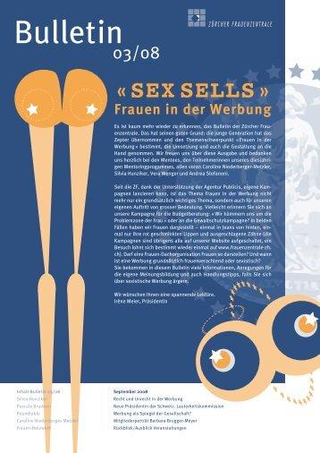 SEX SELLS » Frauen in der Werbung - Frauenzentralen