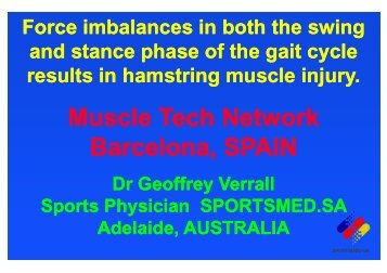 Hamstring Muscles - Muscletech Network
