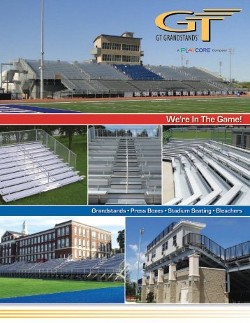 Download a PDF of the Catalog - GT Grandstands