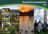 BUILT ENVIRONMENT - Backwell Parish Council