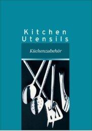 Download Kitchen Utensils Brochure