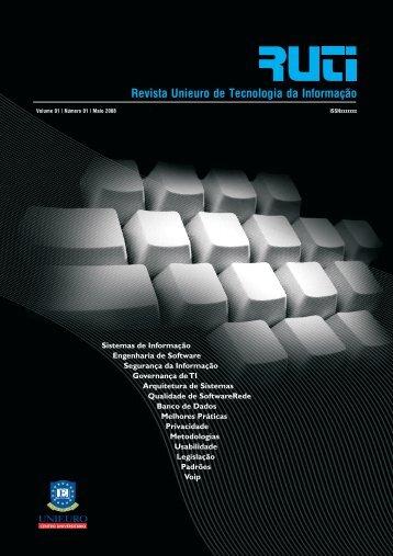 Revista Unieuro de Tecnologia da Informação