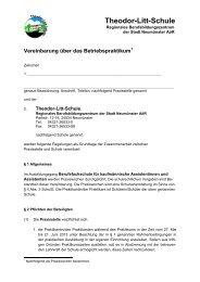 Vordruck Praktikumsvereinbarung - Theodor-Litt-Schule - Stadt ...