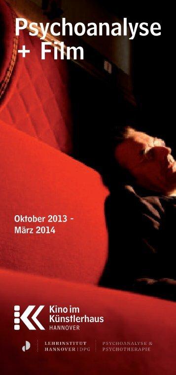 Psychoanalyse + Film - Lehrinstitut für Psychoanalyse und ...