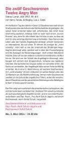 Psychoanalyse + Film - Lehrinstitut für Psychoanalyse und ... - Seite 7