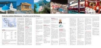 Perlen des östlichen Mittelmeeres – Kreuzfahrt auf ... - ATCTOURISTIC