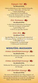 BeautyVita Preisliste - Dorint · Hotel & Sportresort · Arnsberg ... - Seite 3