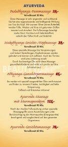 BeautyVita Preisliste - Dorint · Hotel & Sportresort · Arnsberg ... - Seite 5