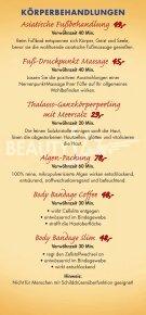 BeautyVita Preisliste - Dorint · Hotel & Sportresort · Arnsberg ... - Seite 6