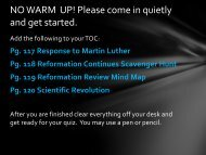 NO WARM UP! Please come in quietly and get started.