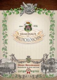 Speisekarte - Brauhaus am Waldschlösschen