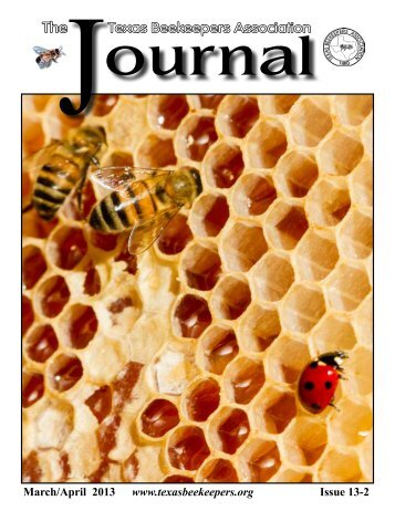 President's Report - Texas Beekeepers Association