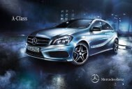 A-Class e-brochure - Mercedes-Benz UK