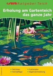 sera Ratgeber Gartenteich.pdf - Aquaristik-Zentrum Innsbruck