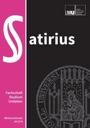 Satirius - Fachschaft Jura - Ludwig-Maximilians-Universität München