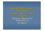ARCLIB09 NASH Buildings Rescue and Restoration at St Fagans