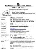 Aussschreibung zum Lauf über den Gläsernen Mönch Halberstadt ... - Page 2