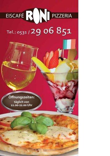 EISCAFÉ PIZZERIA - Eiscafe - Pizzeria 'Roni'
