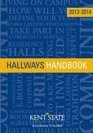 Hallways Handbook - Kent State University