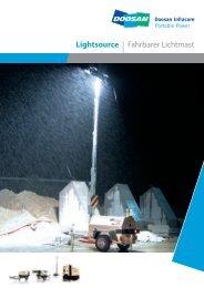 Prospekt Lichtmast LT6