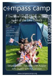 2013 brochure for viewing electronically - Compass Camps