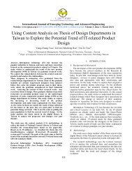 Using Content Analysis on Thesis of Design Departments ... - IJETAE