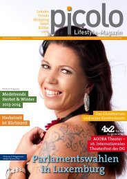 PICOLO - Ausgabe September 2013 - Media Consulting Pint