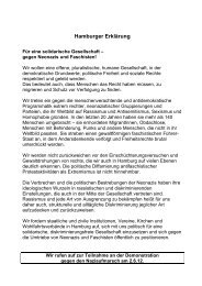 Hamburger Erklärung - Fanladen St. Pauli