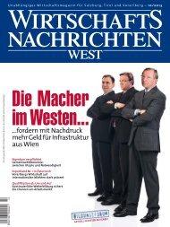 Ausgabe 10/2013 Wirtschaftsnachrichten West