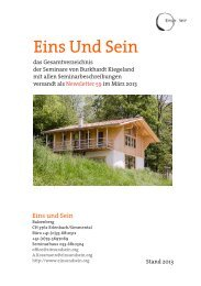 Eins Und Sein - wing tsun KungFu System Schulen Schweiz GmbH