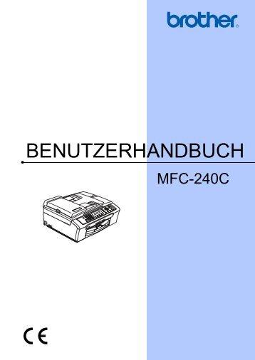 BENUTZERHANDBUCH - Brother