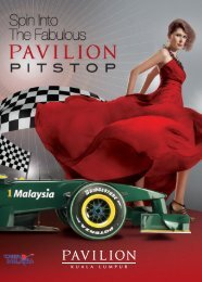 Your Pit Stop for Fashion - Pavilion Kuala Lumpur