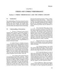 stress and combat performance - Military Veterans PTSD Reference ...