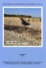 Sand und Kies - Bayerischer Industrieverband Steine und Erden eV