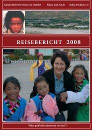 REISEBERICHT 2008 - Tadra-Projekt