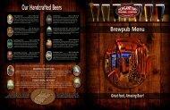 Food - Morgantown Brewing Company