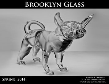 Spring, 2014 Workshops - Brooklyn Glass