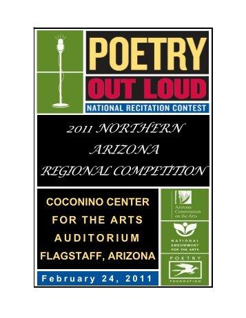 2011 northern arizona regional competition - Arizona Commission ...