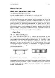 Holzbetonverbund Konstruktion - Bemessung ... - Kurt Pock
