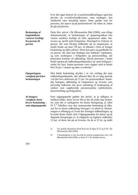 Kapitel IV - De Økonomiske Råd
