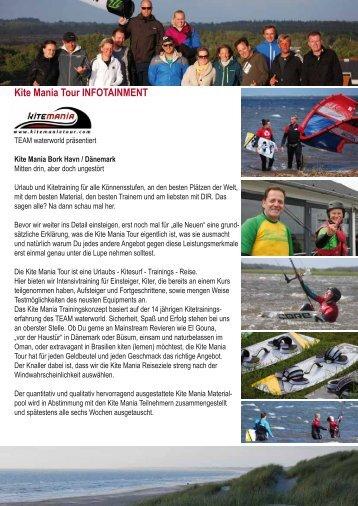 Kite Mania Dänemark - TEAM Waterworld