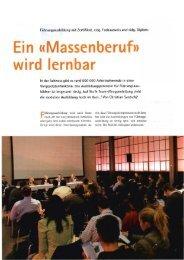 In der Schweiz gibt es rund 600 000 Arbeitnehmende in ei