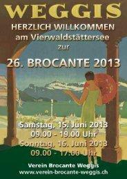 Festführer 2013 - WEB-pdf-Format - Verein Brocante Weggis