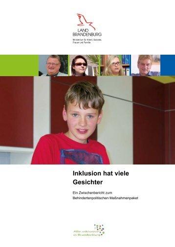 Inklusion hat viele Gesichter - Inklusion - Schule für alle