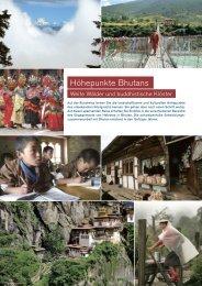 Höhepunkte Bhutans - Helvetas
