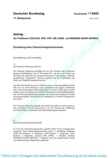 Einsetzung eines Untersuchungsausschusses - Karl Nolle, MdL