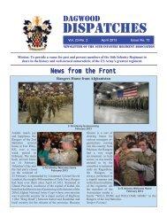 Dispatches - 16th Infantry Regiment Association
