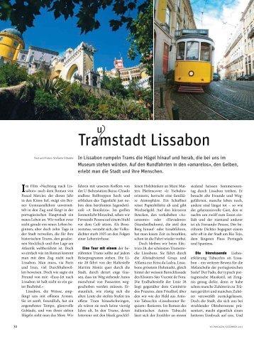 Tramstadt Lissabon - VCS Verkehrs-Club der Schweiz