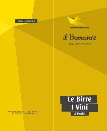 Birra - Il Barrante