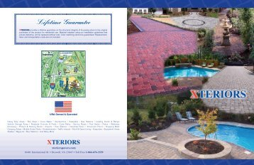 USA Owned & Operated - Xteriors Pavers LLC